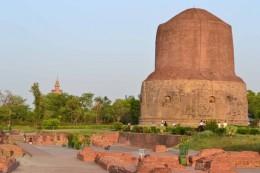 India Wildlife Holidays - Dhamek Stupa - Sarnath