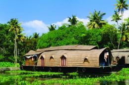 India Wildlife Holidays - Kerala - house boat