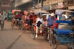 India Wildlife Holidays - rickshaw-ride Delhi tour